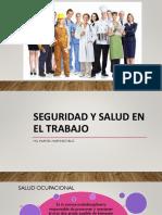 1ra Clase Seguridad y Salud en El Trabajo