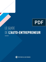 Guide Auto Entrepreneur Cci Paris Ile de France