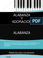 DIFERENCIA ENTRE ALABANZA Y ADORACIÓN