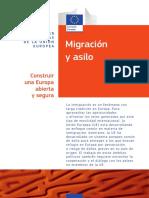 Migración y asilo en la unión europea