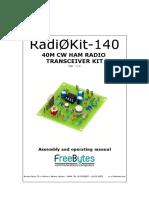 Radi0Kit 140 English Ver1.1