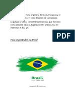 Proceso de Importación de Brasil a Colombia.trabajo Terminado