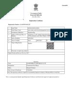GST Certificate