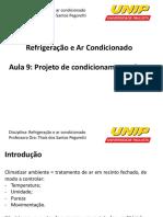 Refrigeração e Ar condicionado - Unip