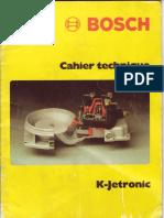 Bosch KJetronic Cahier Technique