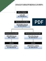 Struktur Organisasi Farmasi Pkm Lapandewa
