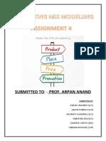 Marketing (Assignment 4)