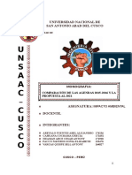Comparacion Agendas Nacionales Ambientales 2015-2016 y propuesta al 2021