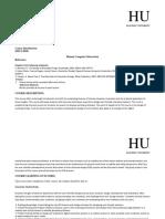 HCI Course