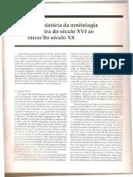 Breve Historia Da Ornitologia Brasileira