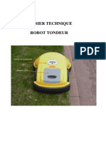Tondeuse Dossier Technique