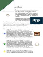 Wikipédia Cinco Pilares