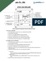 Vdr Monitor Instruction Manual Poster