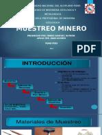 Muestreo Geológico - Minero