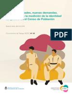 INDEC_2019_Nuevas Realidades Nuevas Demandas Desafíos Censo Identidad Género