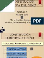La Constitutción Subjetiva Del Niño (1)