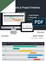 Gantt Project Timelines Showeet(Standard)