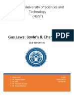 Gas Laws Physics Lab Report