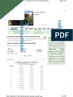 Peshawar Ramadan Timing7