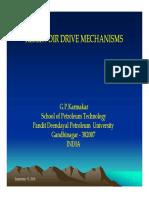 Reservoir Drive Mechanisms