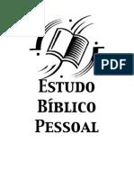 Estudo Bíblico Pessoal