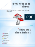 Characteristics of Living Things-ppt