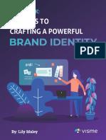 Brand Guide Visme
