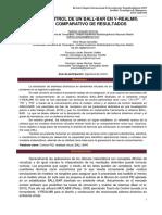 DISEÑO Y CONTROL DE UN BALL-BAR EN V-REALM®. ANÁLSIS COMPARATIVO DE RESULTADOS
