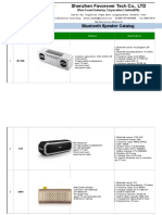Favorever Bluetooth Speaker Catalog With Price to Sho20170303