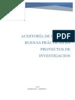 Buenas Practicas en Proyectos de Investigación