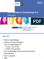 2552 IBM WebSphere Quality Stage 8.0 Deep Dive