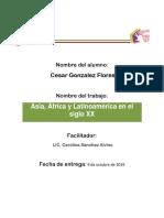 Asia, África y Latinoamericana en el siglo XX