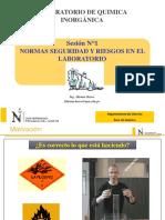 Lab n 01 Normas de Seguridad y Prim Aux