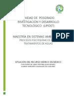 ENSAYO. Situación del recurso hídrico en México.docx