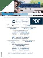 Estructura de Cuentas BBVA