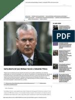 Carta Abierta Del Juez Baltasar Garzón a Sebastián Piñera _ El Desconcierto