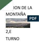 Region montaña
