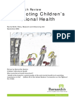 Promoting Children s Emotional Health a Research Review