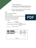 2.2.2 Calculo de Actuadores Neumaticos