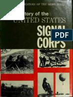 Signal Corps (War) History