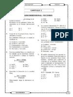 Fisica - Analisis Dimensional y Vectores