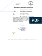 Estructura Tarifaria de Los Servicios Huamanga