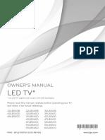 MANUAL TV LG 32LB560B