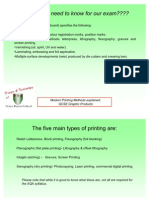 Commercial Printing Methods