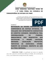 07 Pedido de Liberdade Provisória de Indígena – Paragominas
