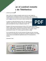 Programar el control remoto de decos de Telefonica.docx