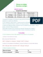 mesure en chimie
