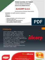 Alicorp Diapositivas- Final