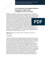 Decrease of Antimicrobial Resistance Through Polyelectrolyte ES
