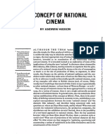 6. the Concept of National Cinema by a Higson 1989